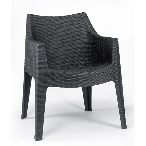 Maxima Arm Chair Grey