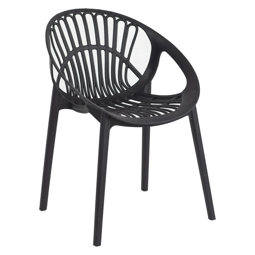 LOON CHAIR BLACK ANGLE