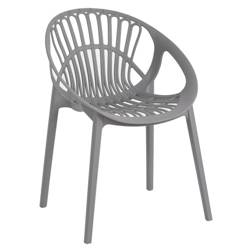 LOON CHAIR GREY ANGLE
