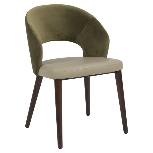 CARLY CHAIR ANGLE GREEN
